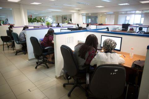 women computers office