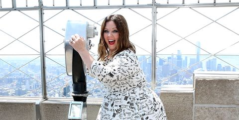 Melissa McCarthy, Kristen Wiig, Kate McKinnon and Leslie Jones Visit The Empire State Building
