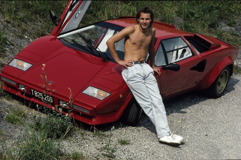 Land vehicle, Vehicle, Car, Lamborghini countach, Coupé, Supercar, Sports car, Lamborghini, Classic car,