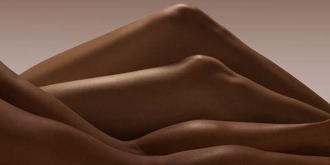 Brown, Natural environment, Beige, Close-up, Dune, Hand, Landscape, Aeolian landform, Photography, Desert,