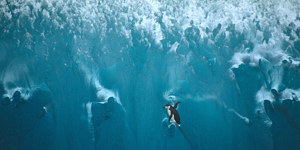 Rocas radioactivas están derritiendo una región de la Antártida