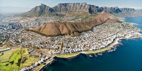 Mountainous landforms, Mountain, Aerial photography, Natural landscape, Reservoir, Landmark, Water resources, Mountain range, Water, Bird's-eye view,