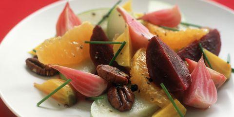 Dish, Food, Cuisine, Ingredient, Fruit salad, Salad, Produce, Recipe, Vegetable, Vegetarian food,