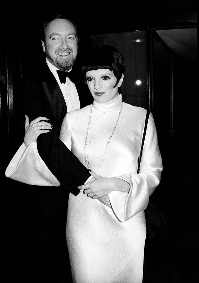 new york, ny   circa 1975 liza minnelli and husband jack haley jr celebrate their first anniversary circa 1975 in new york city photo by pl gouldimagesgetty images