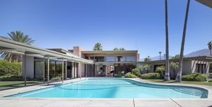 Frank Sinatra Twin Palms Estate, a spectacular example of mid-century architecture in the heart of P