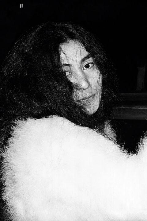 Face, Hair, White, Black, Fur, Black-and-white, Nose, Head, Lip, Long hair,