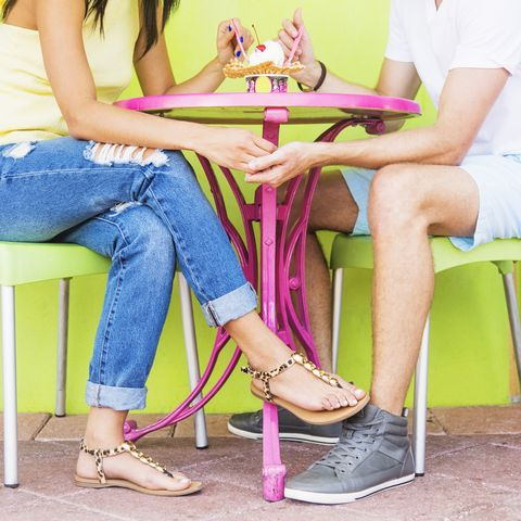 Pink, Leg, Footwear, Yellow, Purple, Sitting, Violet, Fashion, Room, Shoe,