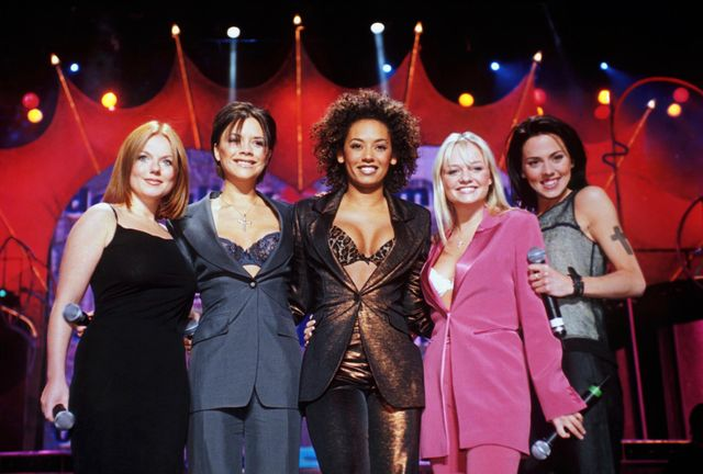 spice girls   1998, spice girls photo by brian rasicgetty images