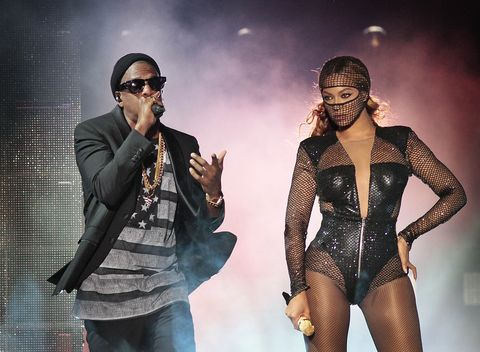 THE HOUSE OF GIVENCHY DRESSES BEYONCÉ AND JAY-Z FOR THEIR
