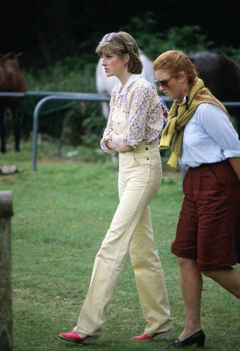 lady diana spencer at the polo, 1980