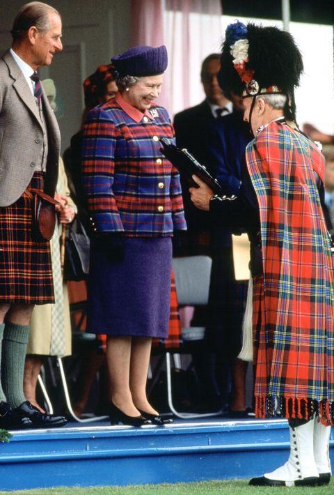 英王室のタータン着こなし集