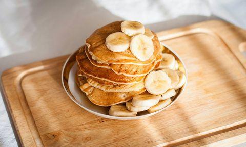 courgetti, voeding, energie, koolhydraten, amandelpasta, pannenkoeken, bananenpannekoek, crackers