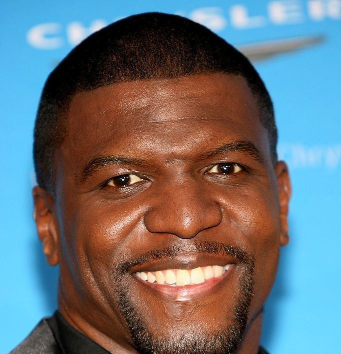 Terry Crews (head of hair) Maybe it's the flat bangs buzz, but something doesn't feel quite right.