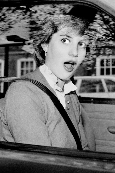 Diana Spencer Stalls Her New Mini Metro
