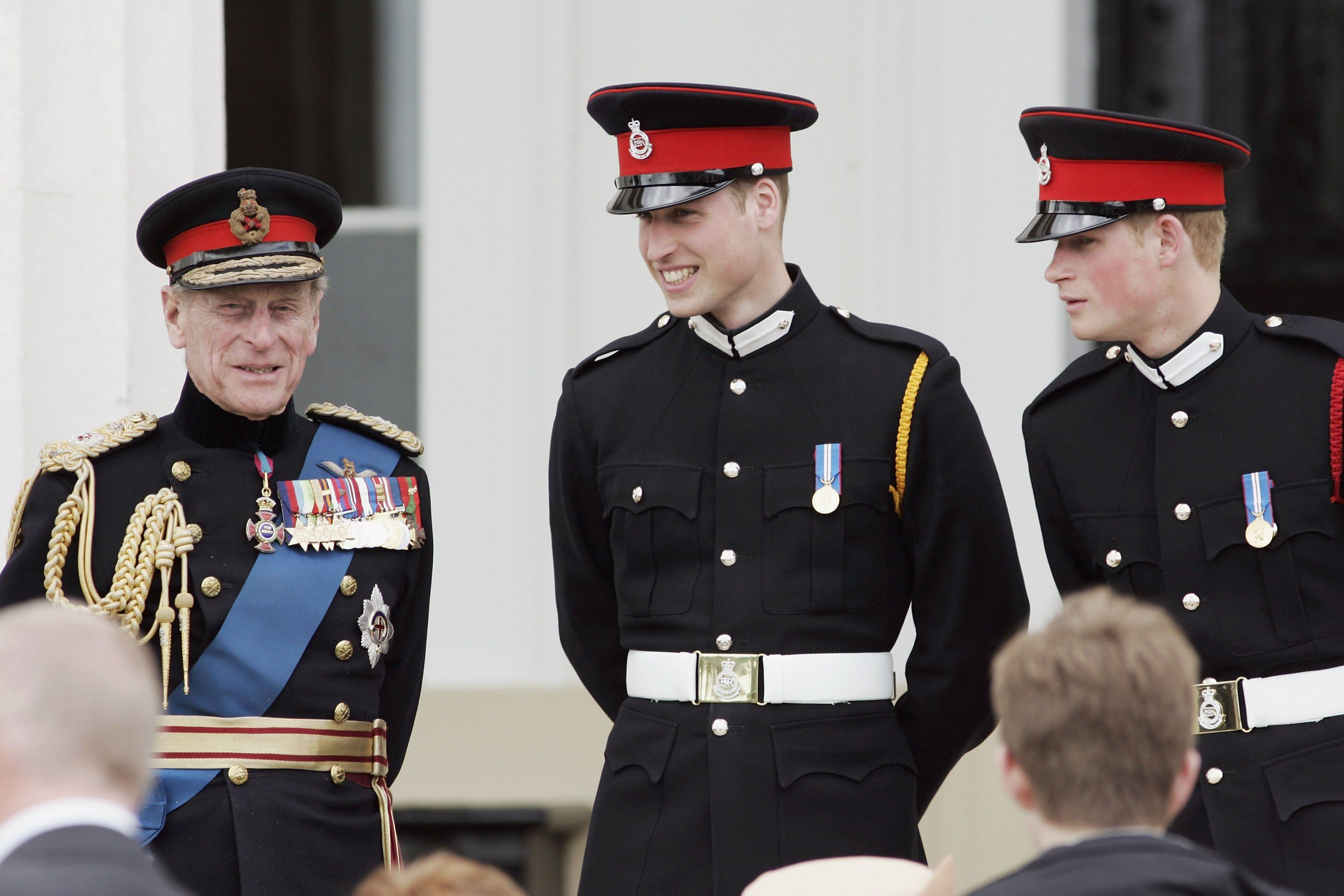 Why Prince William and Prince Harry Aren't Walking Side-by-Side at Prince Philip's Funeral