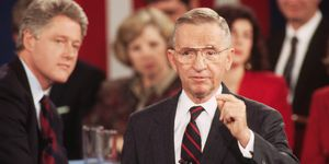 Ross Perot Speaking at the Presidential Debate