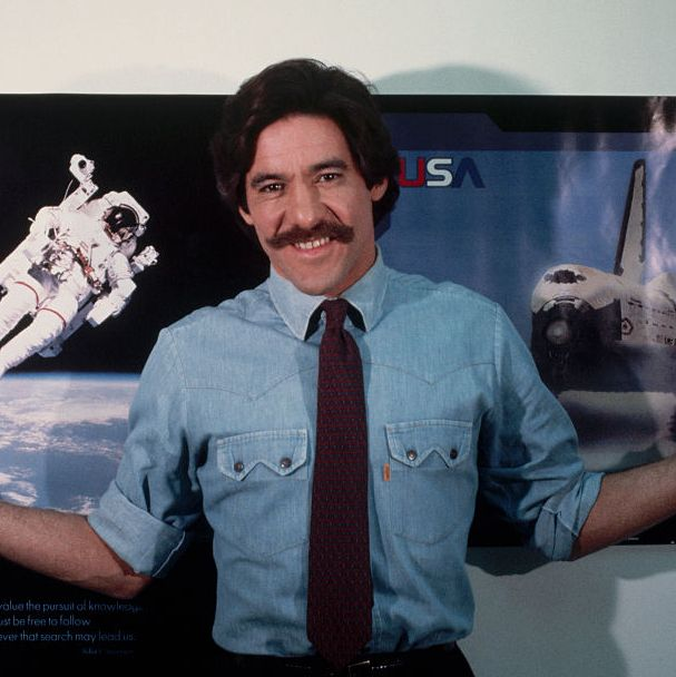 1987: Geraldo Rivera This mustache has not changed one bit over the years, seeing as how Rivera maintains the same style to this day. Now that's commitment.