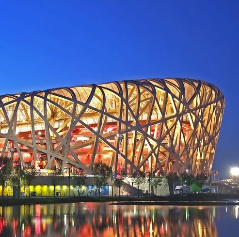 beijing national stadium is also known as the birds nest stadium
