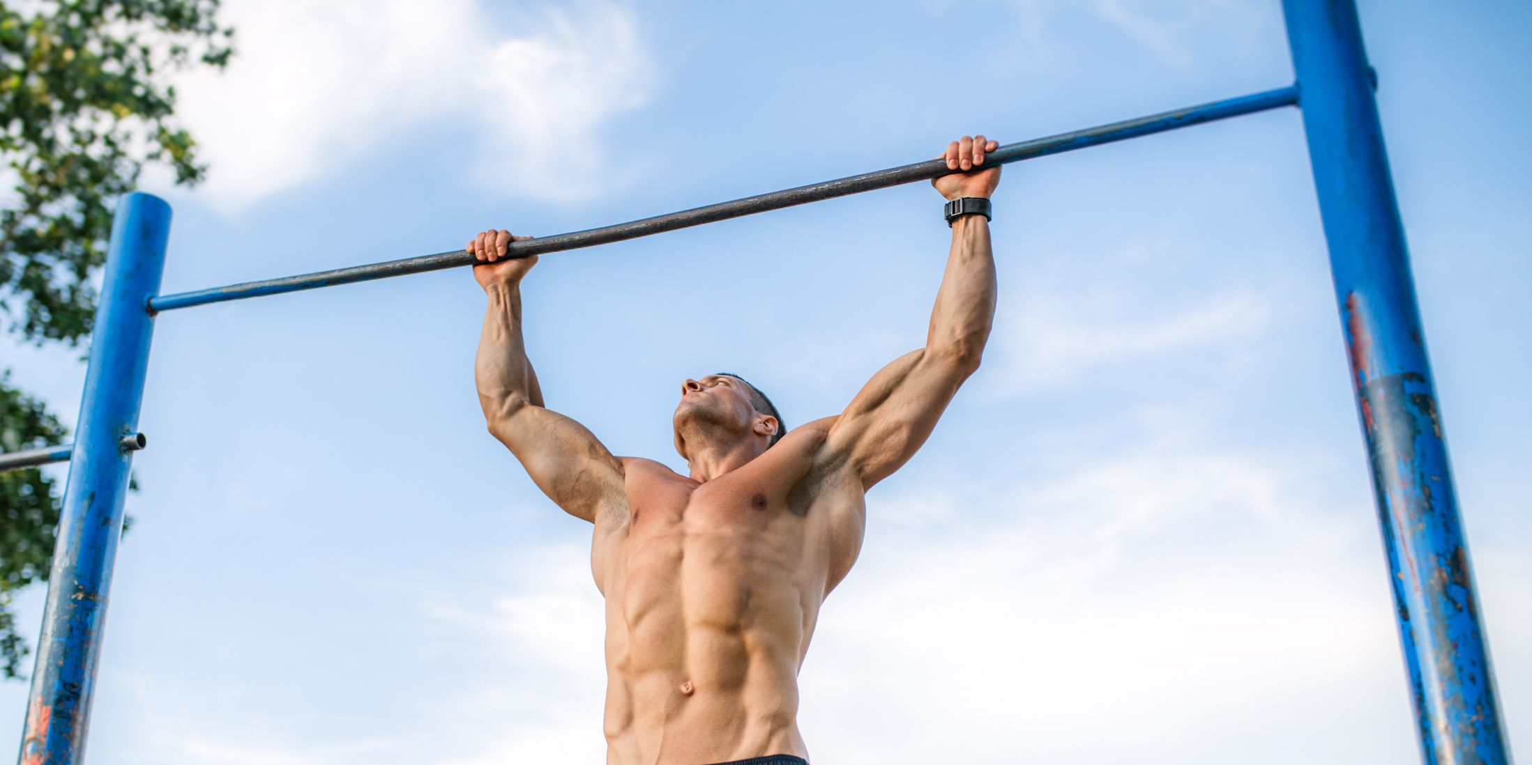Outdoor pull ups
