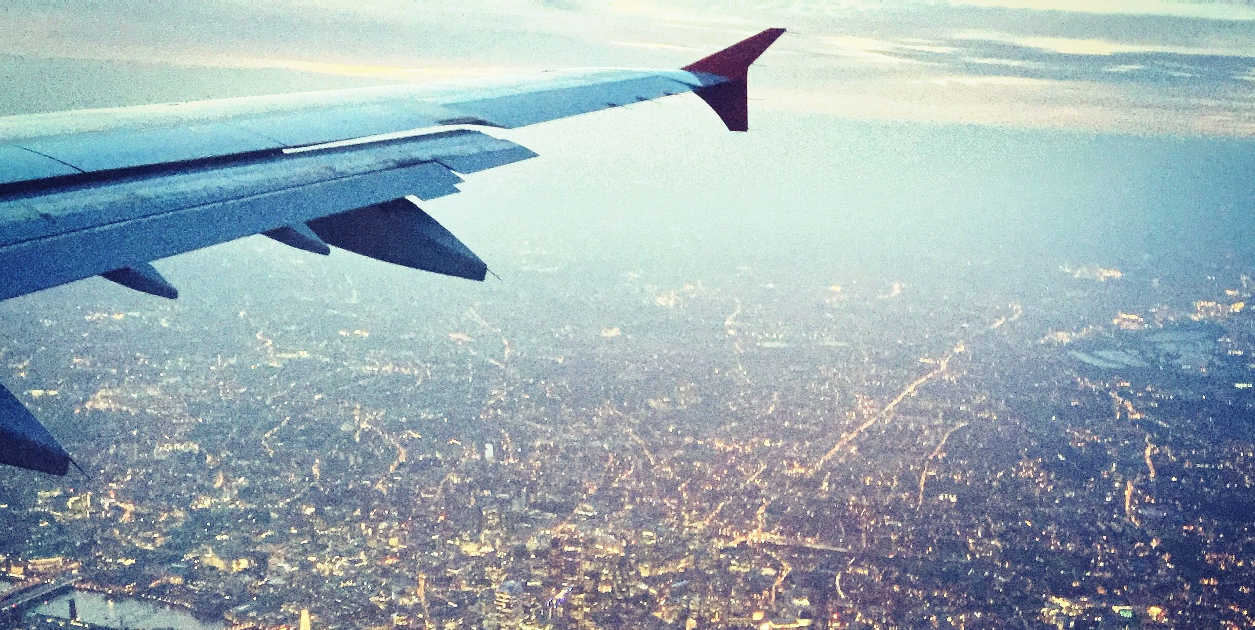 The incredible view passengers on a plane never see