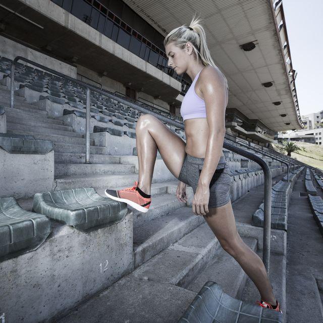 ejercicios, rodillas, mejorar, técnica, carrera