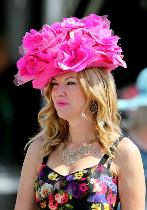 Pink, Clothing, Beauty, Fashion, Fashion accessory, Hat, Headgear, Flower, Petal, Plant,