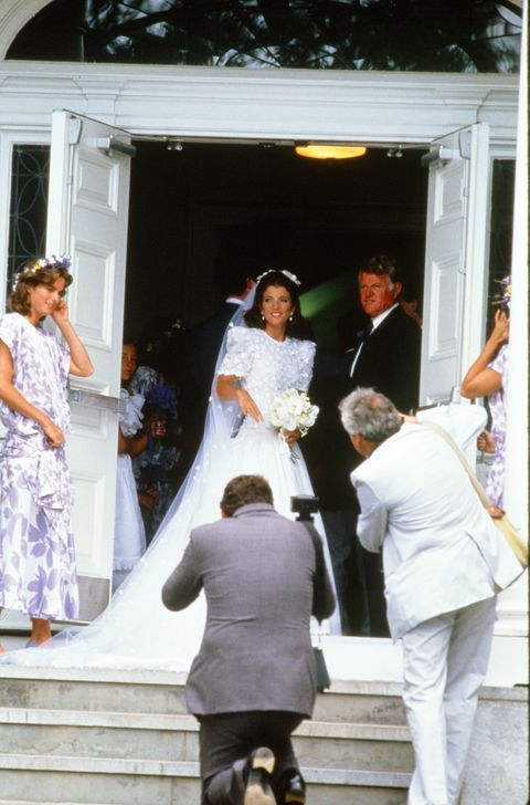 Caroline Kennedy S Wedding Photos Of Caroline Kennedy