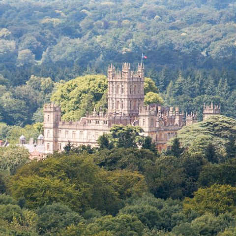 highclere castle was a filming location for the british award winning period drama downton abbey the castle and gardens are open to the public during july and august and at times during the rest of the year taken from beacon hill with a 600mm lens