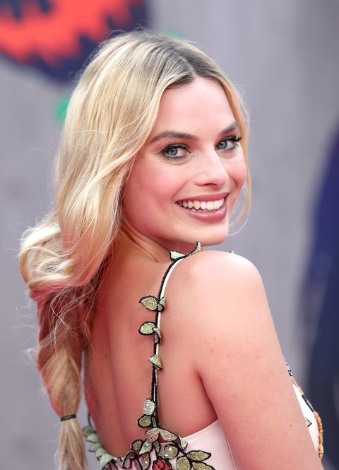Margot Robbie Suicide Squad red carpet