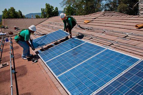paneles solares de california