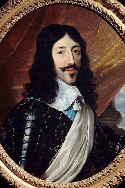 Portrait of Louis XIII king of France by Philippe de Champaigne