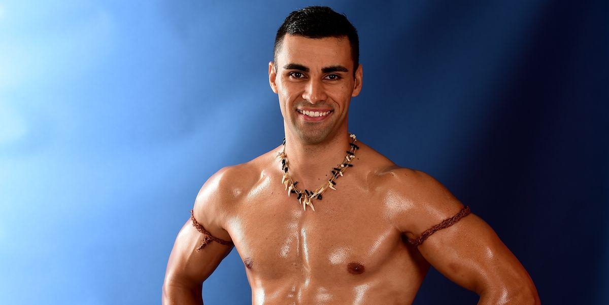 Oiled And Shirtless Tonga Athlete Pita Taufatofua Returns