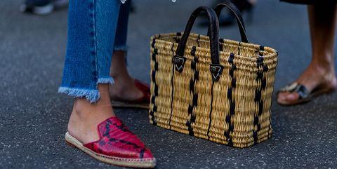 Footwear, Street fashion, Fashion, Shoe, Human leg, Sandal, High heels, Leg, Ankle, Fashion accessory,