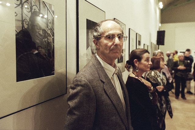 original caption philip roth in aix en provence with his companion photo by pascal parrotsygmasygma via getty images