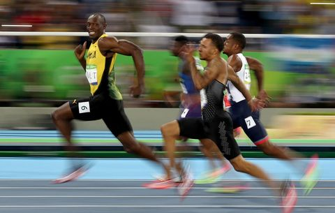 0285267d0 Bolt Smiles Into the History Books. Usain Bolt. Cameron Spencer Getty  Images. In ...