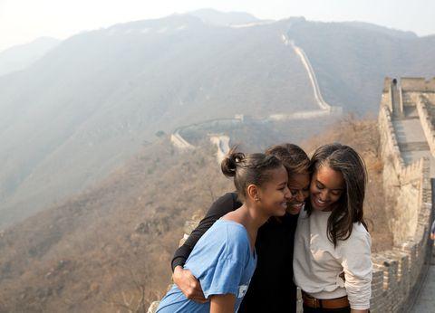 Hair, Mountainous landforms, Tourism, Highland, Mammal, Happy, Hill, Leisure, Mountain, Atmospheric phenomenon,