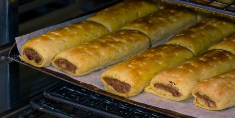 Americans think they invented the sausage roll and Brits on Twitter aren't having it