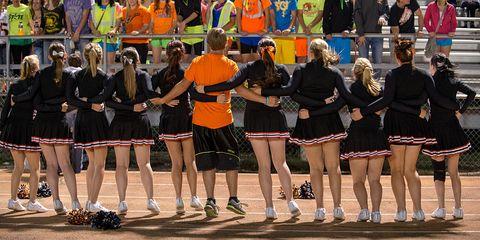 Team, Crowd, Uniform, Fun, Event, Majorette (dancer), Performance, Recreation, Competition event, Sports,