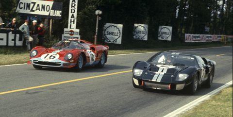 No 2 Bruce McLaren, Chris Amon Ford Mk II, won the race.