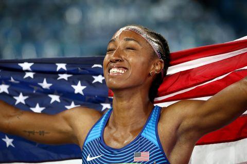 Athlete, Athletics, Sports, Championship, Muscle, Heptathlon, Competition event, Decathlon,
