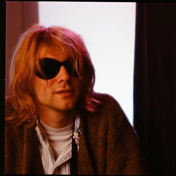 Kurt Cobain at a hotel in Tokyo in November 1991.