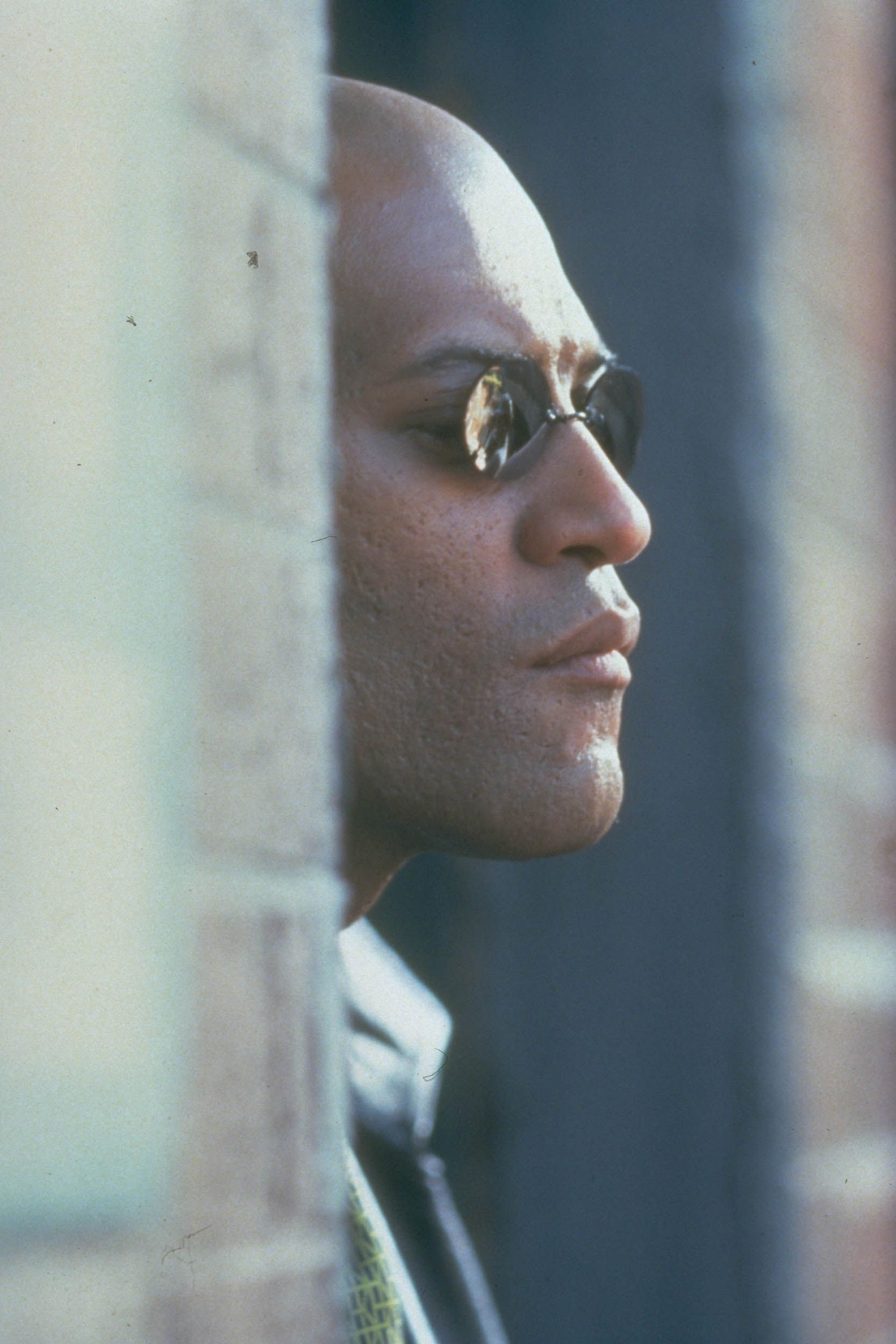 Laurence Fishburne in the 1999 film The Matrix.