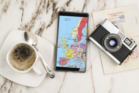 travel with mobile phone