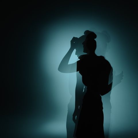 Black, Backlighting, Light, Darkness, Microphone, Standing, Shadow, Sky, Photography, Silhouette,