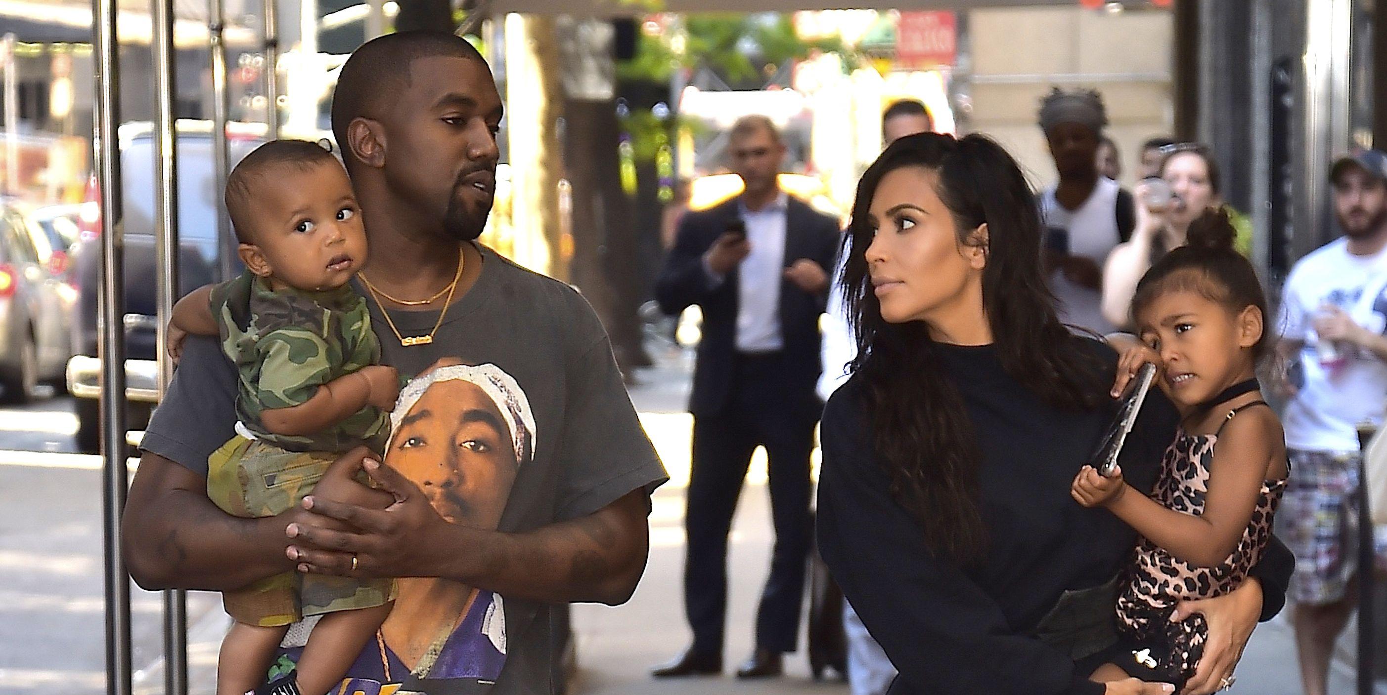 Kim Kardashian Shared Family Photos from Saint's Birthday Party