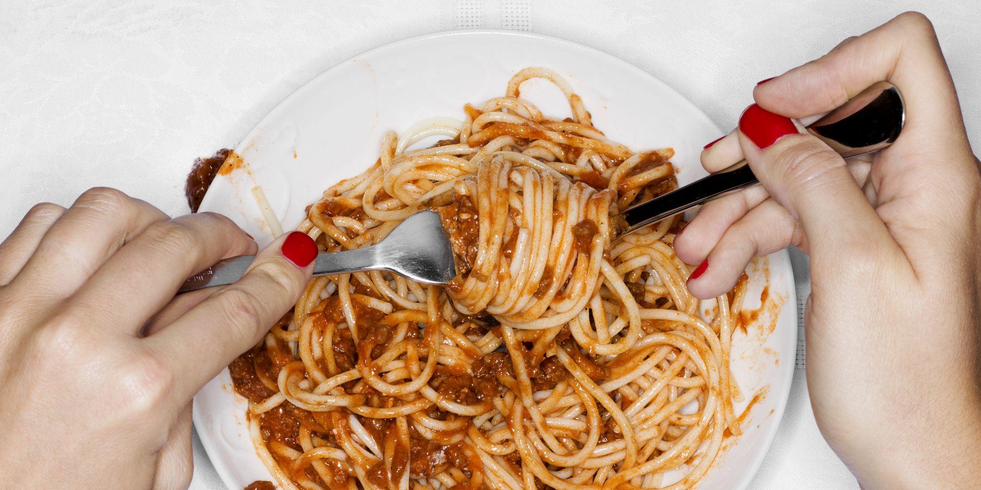 pasta, carbs, spaghetti