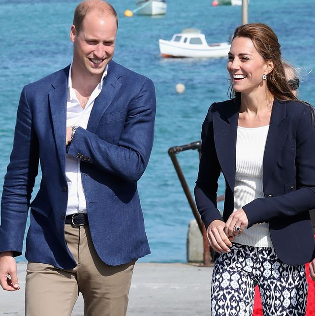 Kate Middleton and Prince William Took a Sneaky Trip to Cornwall With The Kids