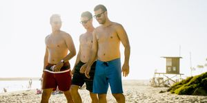 Men's swimsuits for body type