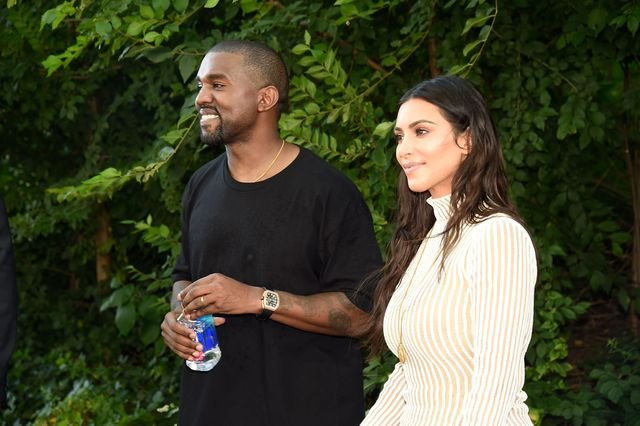 new york, ny   september 07  kanye west and kim kardashian attend the kanye west yeezy season 4 fashion show on september 7, 2016 in new york city  photo by kevin mazurgetty images for yeezy season 4