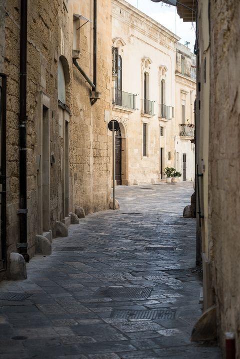 Street in Lecce, Apulia, Italy